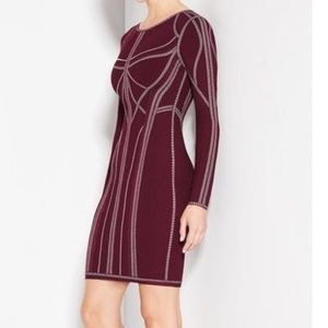 "Herve Leger ""Elaina"" dress size small"